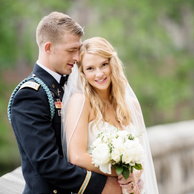 Wedding at West Point Military Academy: